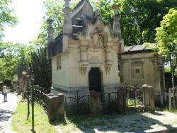 Entourages de tombes – Division 54 – Cimetière du Père Lachaise – Paris (75020)
