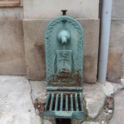 Fontaine à boire – Rue Lacordaire – Sorèze