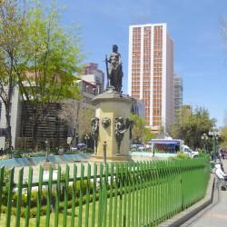 Fuente de la Madre Patria – Paseo del Prado – La Paz