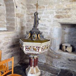 Fonts baptismaux – Sauveterre-de-Rouergue