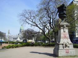 Vases Rouillard (4) –  Plaza del Congreso – Buenos Aires
