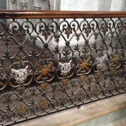 Grilles de communion – église – Castelnau-de-Montmiral