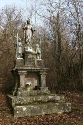 Statues : Vierge, Ste Marguerite, Jeanne d'Arc – Greux
