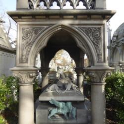 Monument de Félix Ziem – Cimetière du Père Lachaise – Paris (75020)