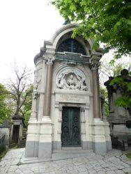 Chapelle sépulcrale Rossignol – Cimetière du Père Lachaise – Paris (75020)