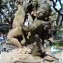 Tres niños desnudos - Enfants de Versailles - Buenos Aires - Image1