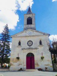 Saint-Jean et Mater dolorosa – Façade de l'église St Jean – Vergt