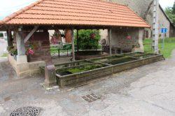 Fontaine-lavoir, Romont