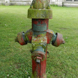 Borne à incendie – Chartreuse Notre-Dame des Prés – Neuville-sous-Montreuil