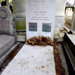 Tombe de la famille Longuet (Lafargue) – Cimetière du Père Lachaise – Paris (75020)