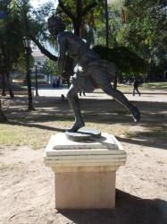 Estatua de Hipómenes –  Hippomène – Plaza 9 de Julio – Salta