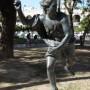 Estatua de Hipómenes -  Hippomène - Plaza 9 de Julio - Salta - Image2