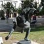 Estatua de Hipómenes -  Hippomène - Plaza 9 de Julio - Salta - Image4