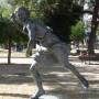 Estatua de Hipómenes -  Hippomène - Plaza 9 de Julio - Salta - Image5