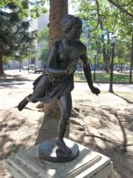 Escultura de Atalanta – Atalante – Plaza 9 de Julio- Salta