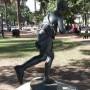 Escultura de Atalanta - Atalante - Plaza 9 de Julio- Salta - Image2