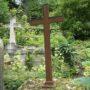 Entourages de tombes, croix et corbeille - Division 18 - Cimetière du Père Lachaise - Paris (75020) - Image14