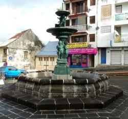Fontaine aux enfants – Place Émile Berlan – Le Lamentin – Martinique