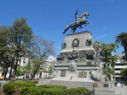 Statue équestre du général San Martin – Plaza San Martin – Córdoba