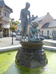 Fontaine de la place du Monument – Arreau