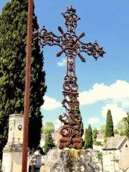 Croix avec anges – Cimetière de la ville – Cahors