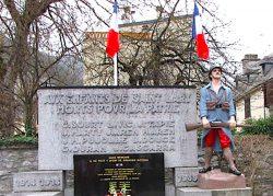 Poilu « la Résistance » – Monument aux morts  – Saint-Lary-Soulan