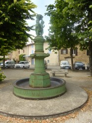 Fontaine Mazet  – Chabeuil (volée)