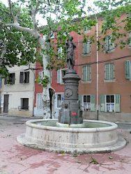 Fontaine monumentale Diane de Gabies – Puget-Ville