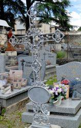 Croix à plaques ovales et au tétramorphe (7) – Cimetière de la ville – Cahors