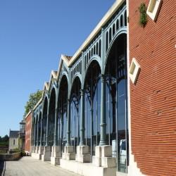 Halle – rue Lakanal – Villeneuve-sur-Lot