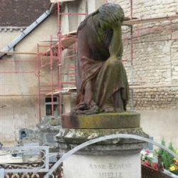 statue la désolation Radonvilliers