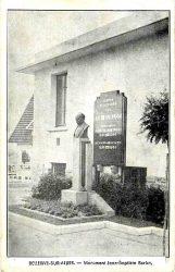 Monument à Jean-Baptiste Burlot – Bellerive-sur-Allier