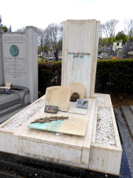 Tombe de Paul Vaillant-Couturier  –  Cimetière du Père Lachaise – Paris (75020)
