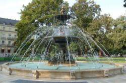 Fontaine du  Jardin anglais – Genève
