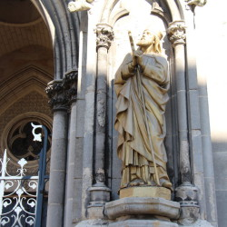 Statue Saint-Loup – Eglise Saint-Loup – Châlons-en-Chamapgne
