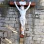 Christ - Chevet de l'église - Vazerac - Image1