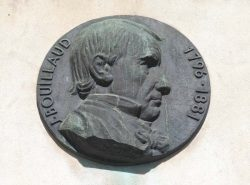 Médaillon du docteur Jean Bouillaud – Angoulême