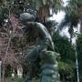 Fontaine  Ninfa de la caracola : jeune fille à la conque - Málaga - Image2