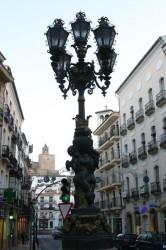 Fontaine-lampadaire – Antequera