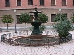 Fuente de los Somormujos – Fontaine des Somormujos (hérons) – Valencia