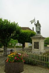 Statue Henri 1er – Igny-Comblizy