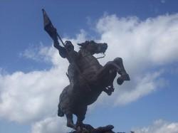 Statue de Jeanne d'Arc au Ballon d'Alsace – Saint-Maurice-sur-Moselle