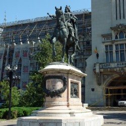 Monument à Ștefan cel Mare – Iași