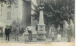 Fontaine et buste de Marianne (Fondu) (Remplacé) – Collobrières
