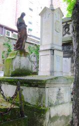 Vierge des Douleurs de la tombe Fortier-Farré – Cimetière de Montmartre – Paris (75018)