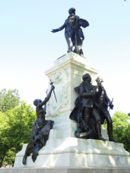 Monument à Lafayette  – Lafayette Park – Washington, D.C (USA) (en cours de rédaction)
