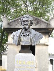 Tombe de Georges-Albert Trugard – Cimetière du Père-Lachaise – Paris (75020)