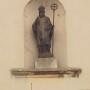 Statue de Saint Germain - Façade de l'église Saint-Germain-l'Auxerrois - Fontenay-sous-Bois - Image1