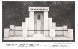 Monument à Adrien Pressemane  (fondu et remplacé) – Saint-Léonard-de-Noblat.