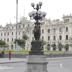 Candélabre – Farola – des Trois Grâces – Plaza San Martin – Lima